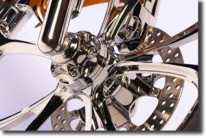 Chrome Motorcycle Rim