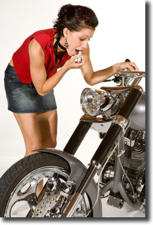 Keep your Motorcycle Chrome Clean!